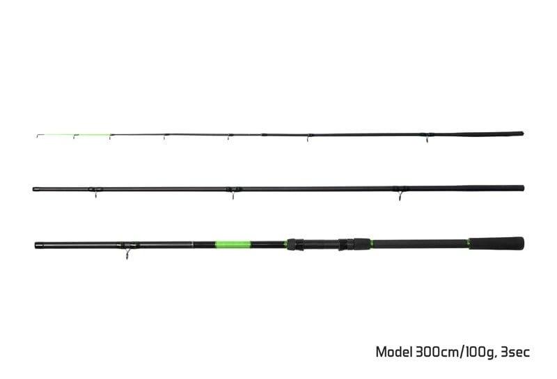 Delphin WASABI Feeder Фидер въдица 3 части 300cm/100g