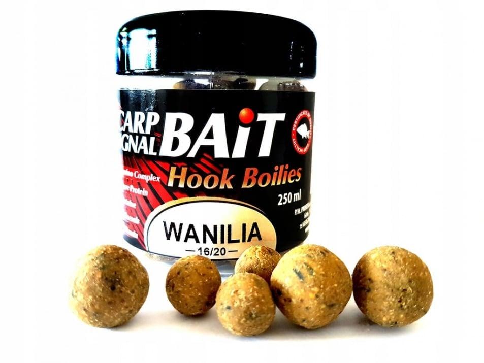 Profess Carp Boilies Signal Bait 16/20мм 250мл. Протеинови топчета Ванилия