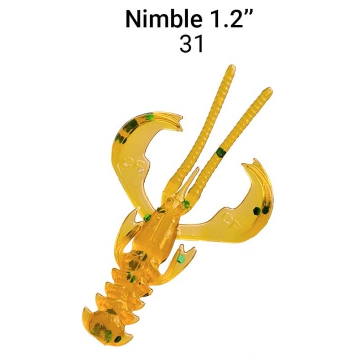 Crazy Fish Nimble 3см Силиконова примамка  31 LB