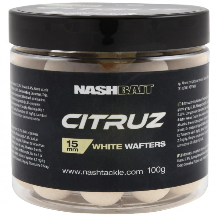 Nash Tackle Citruz Wafters White 100g Вафтери