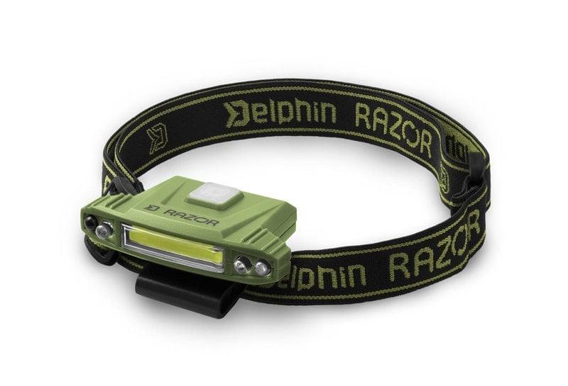 Delphin Head lamp RAZOR USB Челник
