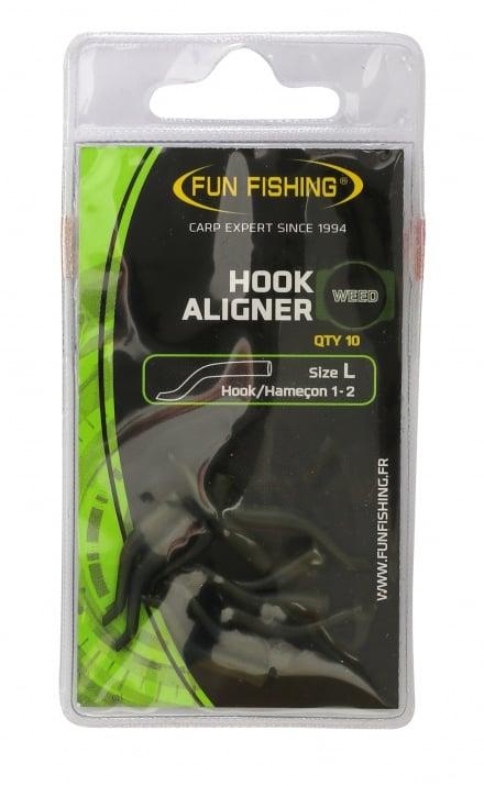 Fun Fishing Hook Aligner 10бр. Алайнери Weed L 1-2