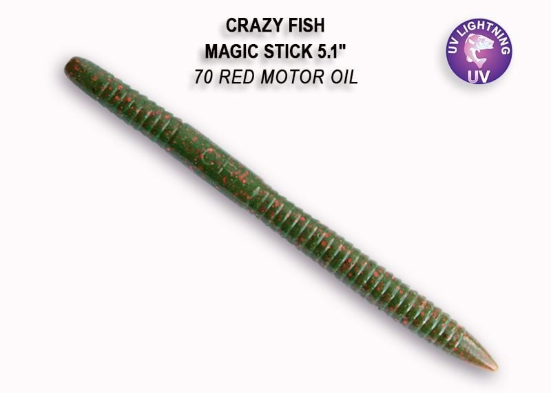 Crazy Fish Magic Stick 13см Силиконова примамка