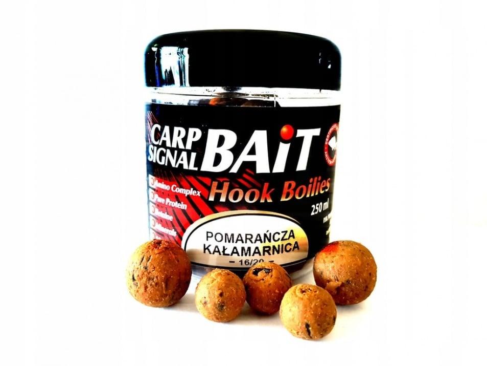 Profess Carp Boilies Signal Bait 16/20мм 250мл. Протеинови топчета Портокал и Шоколад