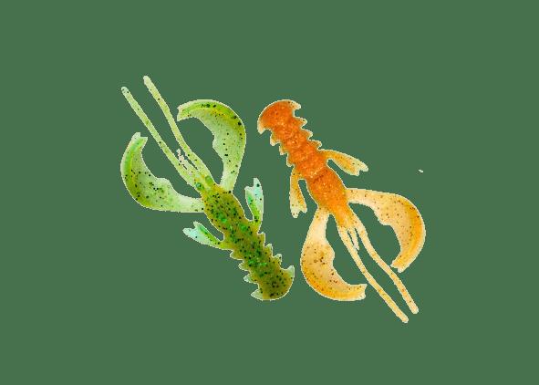 Crazy Fish Nimble 6.5см Силиконова примамка  5D Orange Chart