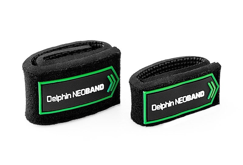 Delphin Stretch band for fishing rods NEOBAND Неопренови лепенки за въдица 2 бр