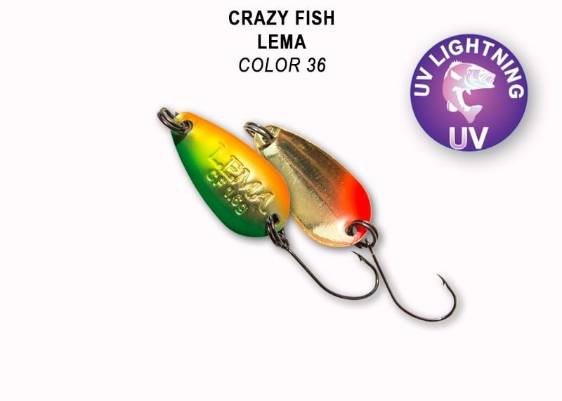 Crazy Fish Lema 1.6гр. Клатушка Цвят 36