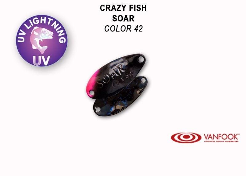 Crazy Fish Soar 1.8гр. Клатушка Цвят 42
