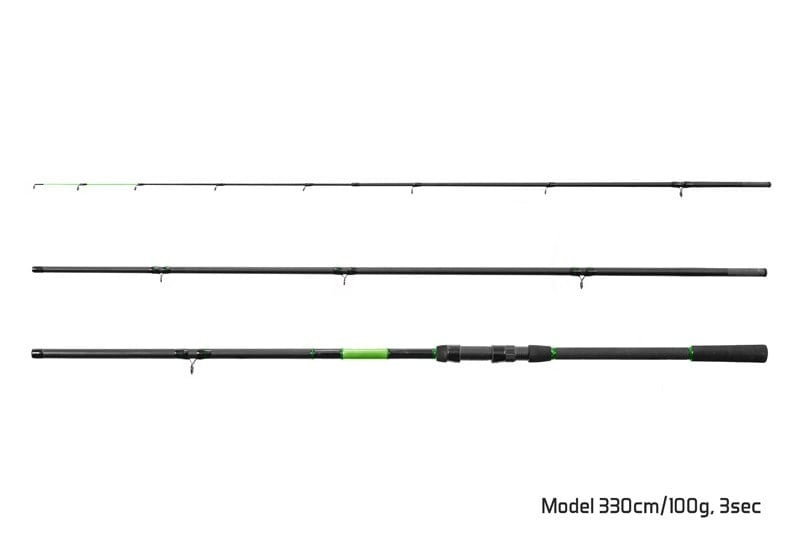 Delphin WASABI Feeder Фидер въдица 3 части 330cm/100g