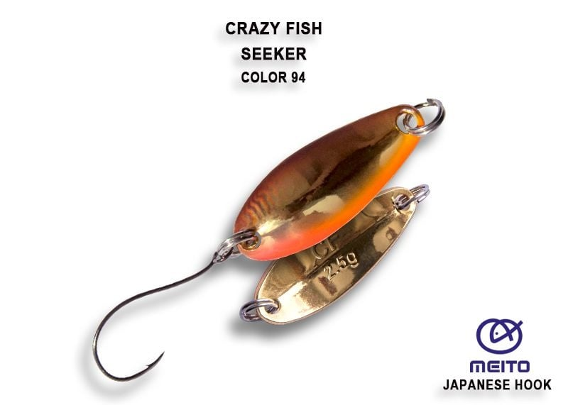 Crazy Fish Seeker 2.5гр. Клатушка Цвят 94