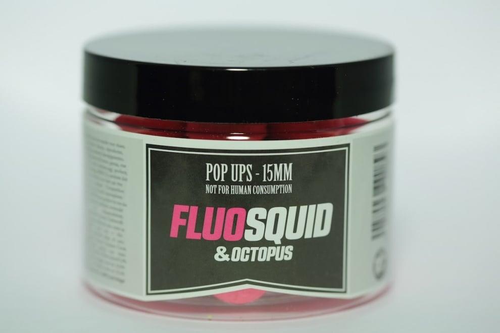 Dream Baits Pop Ups Squid & Octopus Fluo Поп Ъпи 50 гр Squid & Octopus 15 мм
