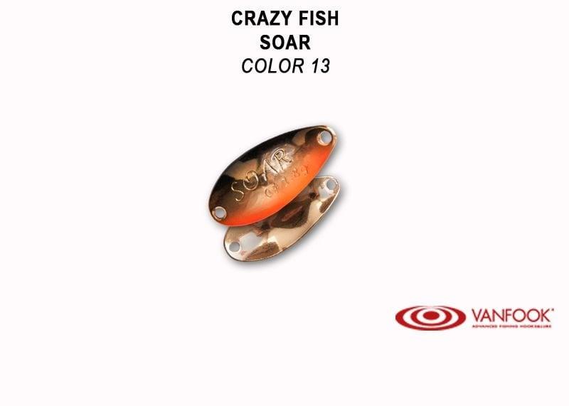 Crazy Fish Soar 1.4гр. Клатушка Цвят 13