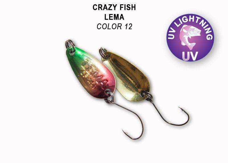 Crazy Fish Lema 1.6гр. Клатушка Цвят 12