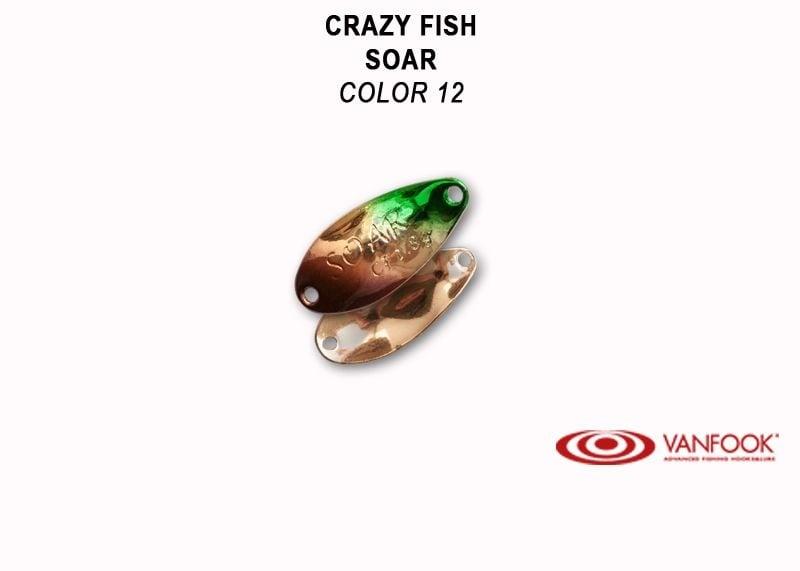 Crazy Fish Soar 1.8гр. Клатушка Цвят 12