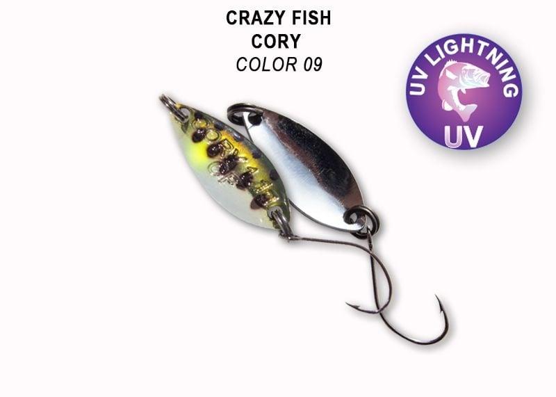 Crazy Fish Cory 1.1гр. Клатушка Цвят 9.1