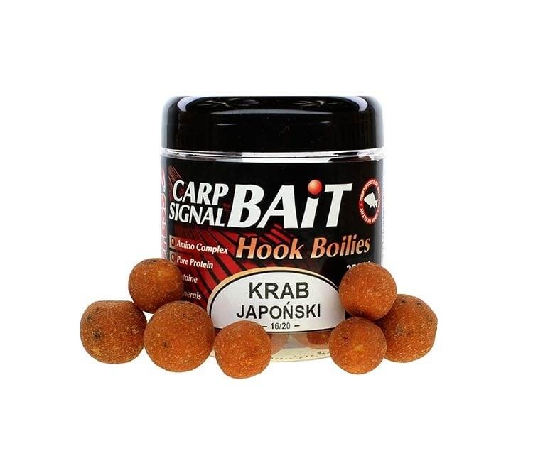 Profess Carp Boilies Signal Bait 16/20мм 250мл. Протеинови топчета Японски Краб