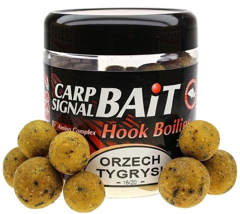 Profess Carp Boilies Signal Bait 16/20мм 250мл. Протеинови топчета Царевица и Тигров Фъстък