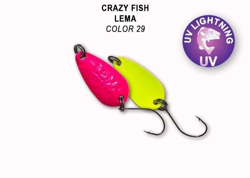 Crazy Fish Lema 1.6гр. Клатушка Цвят 29