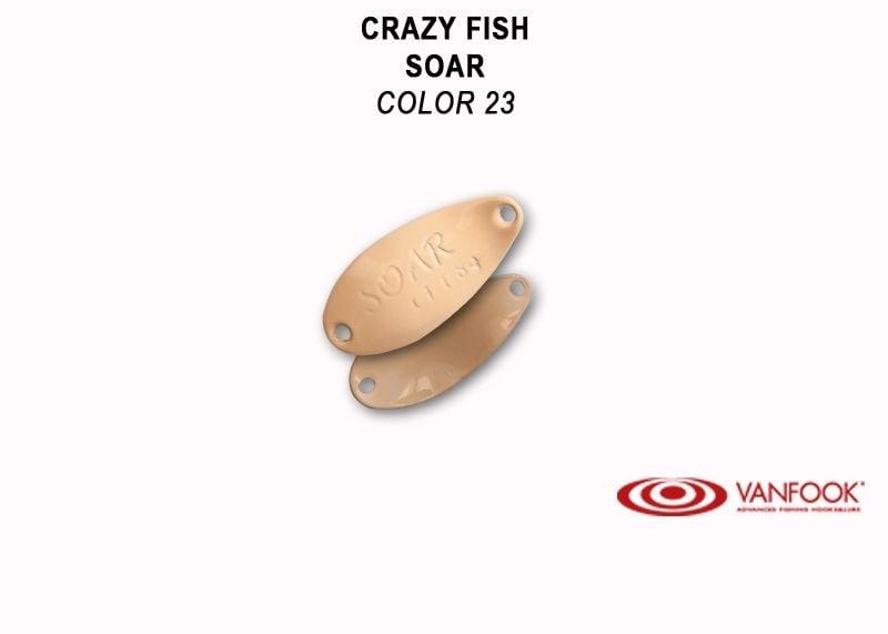 Crazy Fish Soar 1.8гр. Клатушка Цвят 23