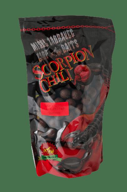 Misel Zadravec Boilies Scorpion Green Chili Black Pepper Протеинови Топчета 1кг.