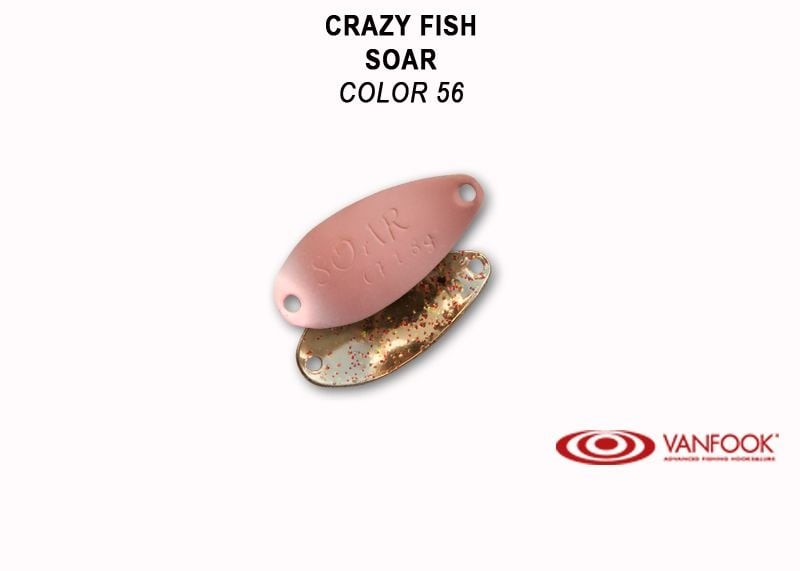 Crazy Fish Soar 1.8гр. Клатушка Цвят 56