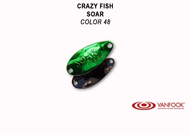 Crazy Fish Soar 1.8гр. Клатушка Цвят 48
