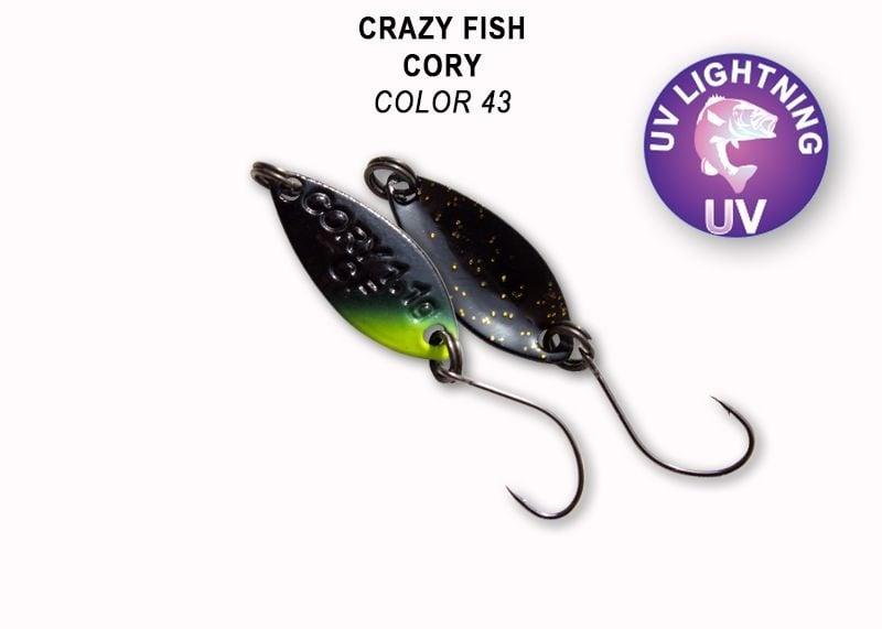 Crazy Fish Cory 1.1гр. Клатушка Цвят 43