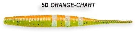 Crazy Fish Polaris 10см Силиконова примамка  5D Orange Chart
