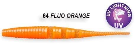 Crazy Fish Polaris 10см Силиконова примамка  64 Fluo Orange