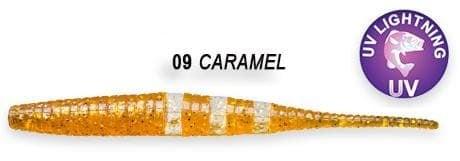 Crazy Fish Polaris 10см Силиконова примамка  09 Caramel