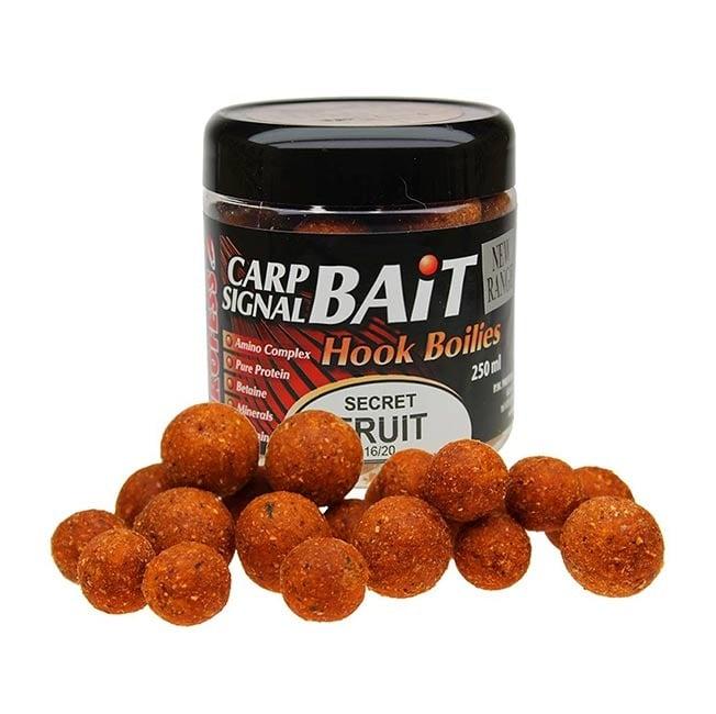 Profess Carp Boilies Signal Bait 16/20мм 250мл. Протеинови топчета Secret Fruit