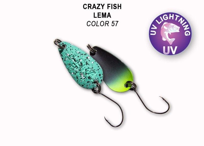 Crazy Fish Lema 1.6гр. Клатушка Цвят 57