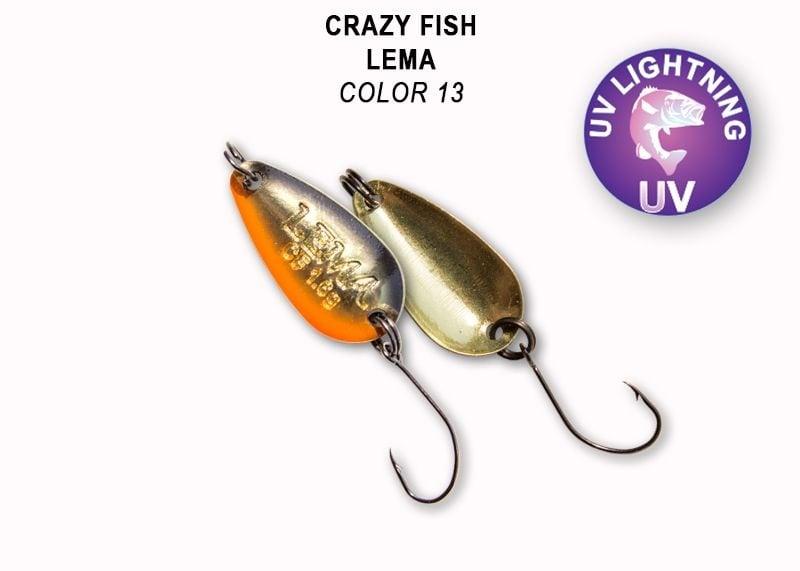 Crazy Fish Lema 1.6гр. Клатушка Цвят 13