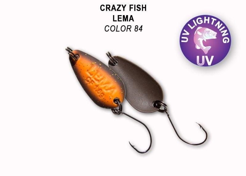 Crazy Fish Lema 1.6гр. Клатушка Цвят 84