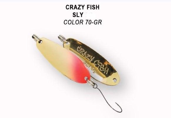 Crazy Fish Sly 6гр. Клатушка 70 GR