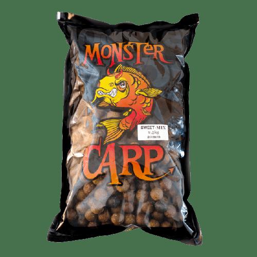 Misel Zadravec Monster Carp Boilies Natur Fish 35% Топчета за подхванване 2.5кг