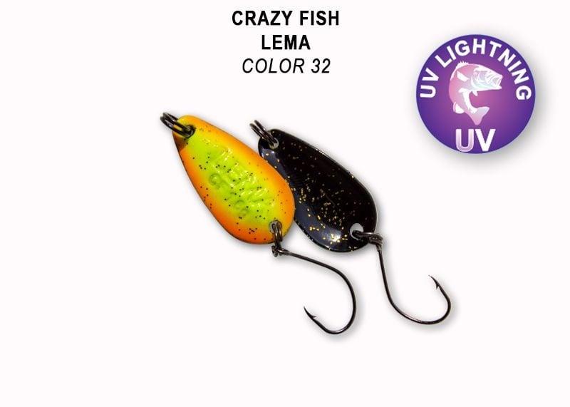Crazy Fish Lema 1.6гр. Клатушка Цвят 32