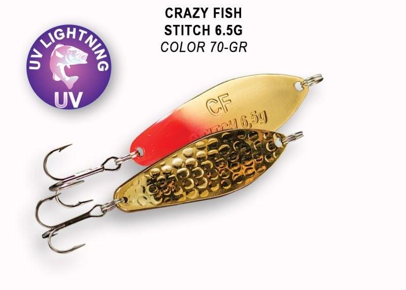 Crazy Fish Stitch 6.5гр. Клатушка 70 GR