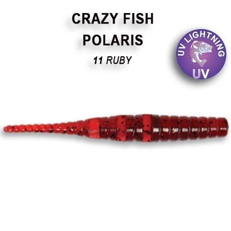 Crazy Fish Polaris 4,5см Силиконова примамка  11 Ruby