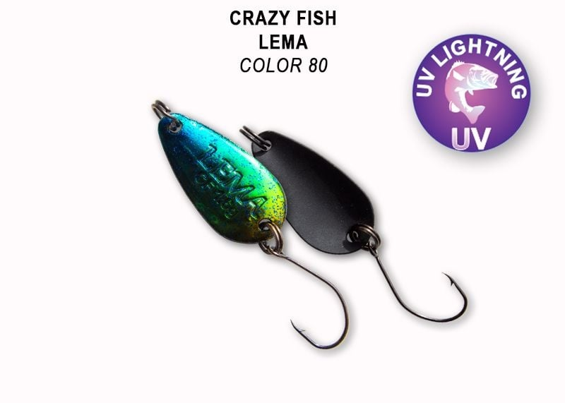 Crazy Fish Lema 1.6гр. Клатушка Цвят 80