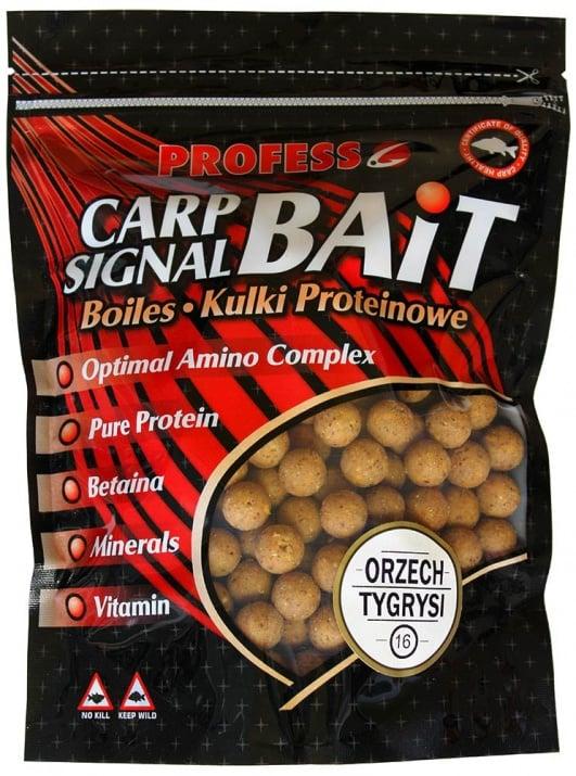 Profess Boilies Carp Signal 20мм Протеинови топчета 750g Царевица и Тигров Фъстък