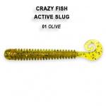 Crazy Fish Active Slug 7см Силиконова примамка