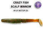 Crazy Fish Scalp Minnow 8см Силиконова примамка