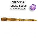 Crazy Fish Cruel Leech 5,5см Силиконова примамка