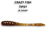 Crazy Fish Tipsy 5см Силиконова примамка