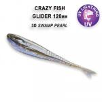 Crazy Fish Glider 12см Силиконова примамка