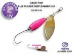 Crazy Fish Slim Flicker Deep Runner 3.5гр. Блесна