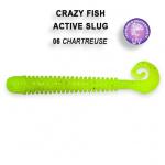 Crazy Fish Active Slug 7.1см Силиконова примамка