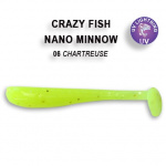 Crazy Fish Nano Minnow 4см Силиконова примамка