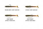 Силиконова примамка Crazy Fish Vibro Worm 7.5см